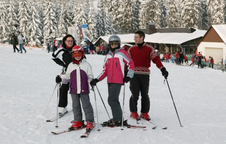 Ski fahren im Sauerland