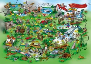 Wimmelkarte - Schmallenberger Kinderland