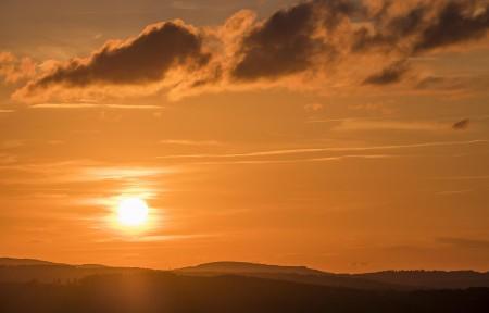 Sonnenuntergang Schmallenberger Sauerland