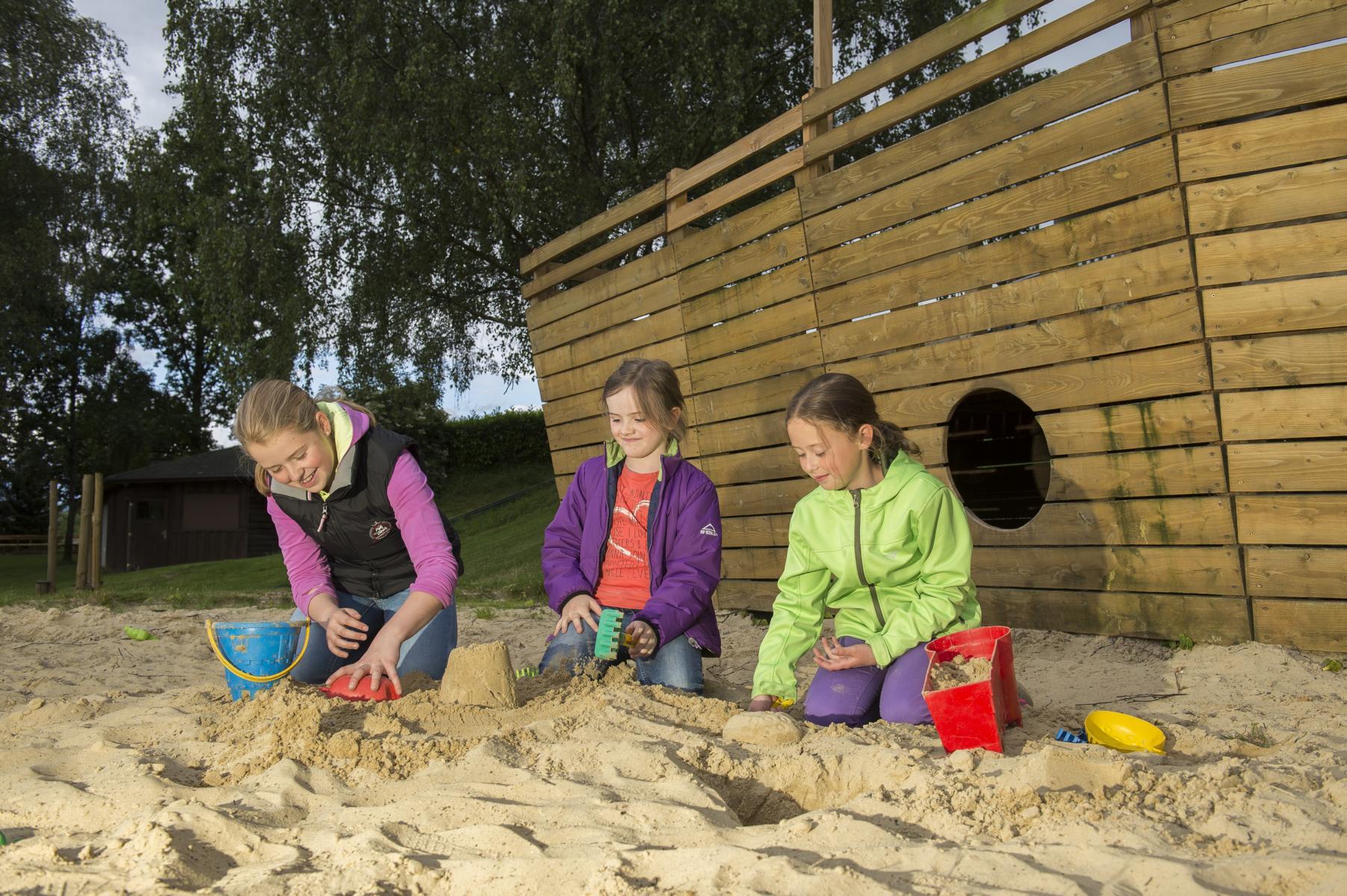 Foto Sand Spielplatz
