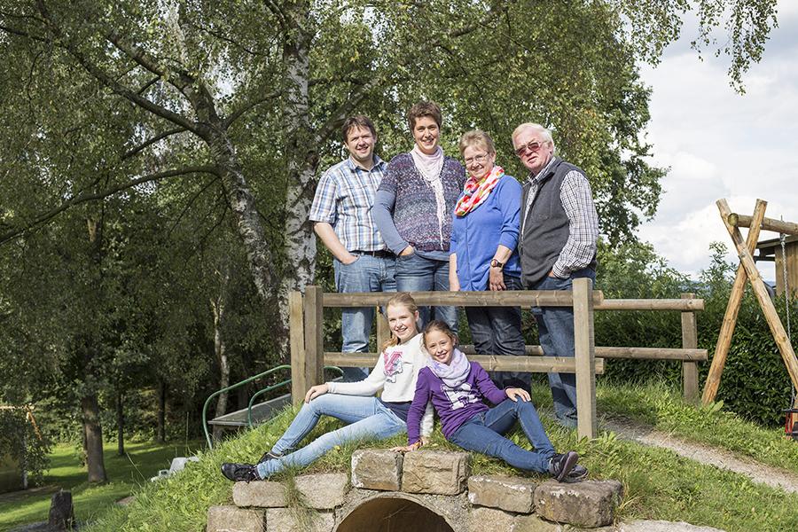 Familie Heßmann auf dem Ferienhof