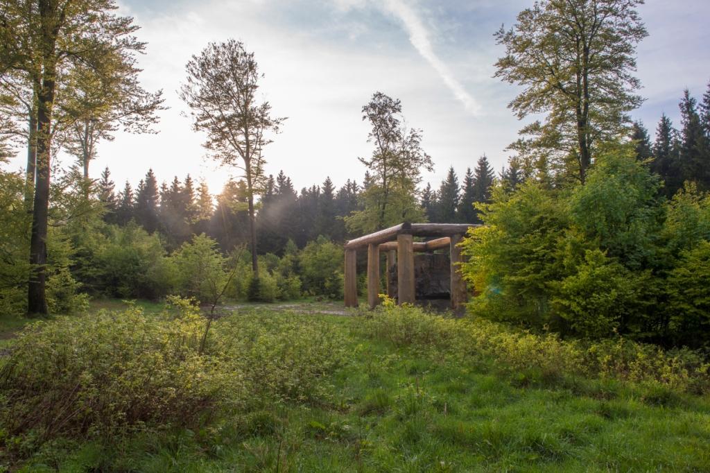 Kunst im Wald im Schmallenberger Sauerland